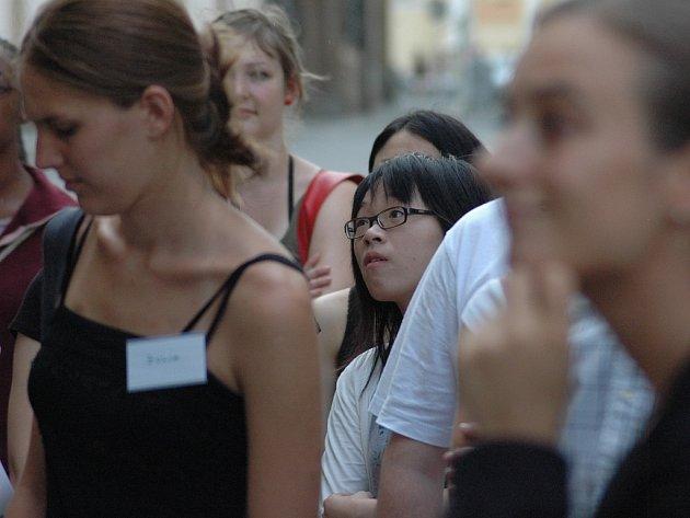 Zahraniční studentky.