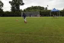 Mistrovství Litovel v kopání penalt se vydařilo.