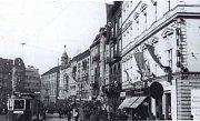 Výzdoba náměstí Adolfa Hitlera (dnešní Horní náměstí) v Olomouci