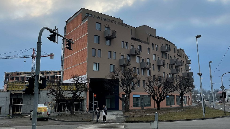 Bydlení Šantova, únor 2021