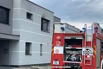Požár bytu v Ječmínkově ulici v Olomouci, 9. 7. 2020