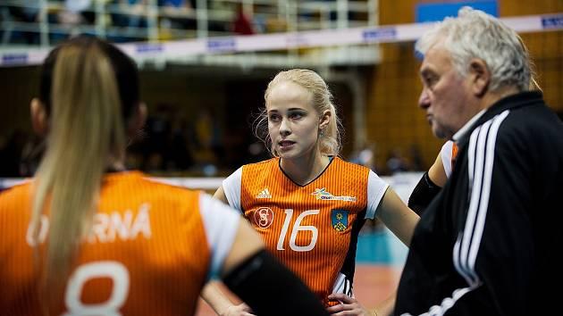 Volejbalistky Šternberka. Ilustrační foto