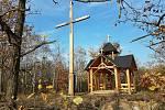 Kaple sv. Antonína Paduánského v přírodní rezervaci Malý Kosíř