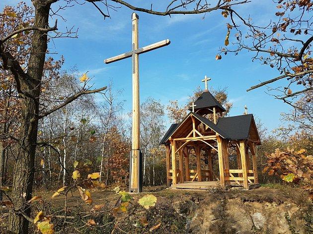 Kaple sv. Antonína Paduánského vpřírodní rezervaci Malý Kosíř