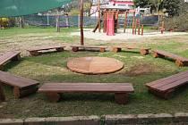 Školní zahrada mateřské školy U Dráhy ve Šternberku