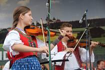 Festival Lidový rok ve Velké Bystřici.