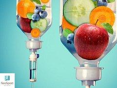 Vitaminové infuze na Neo Sport Clinic Olomouc