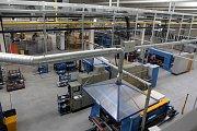 Nová výrobní hala společnosti Wanzl v Hněvotíně