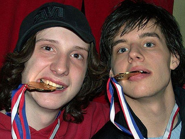 Michal Nedbálek (vpravo).