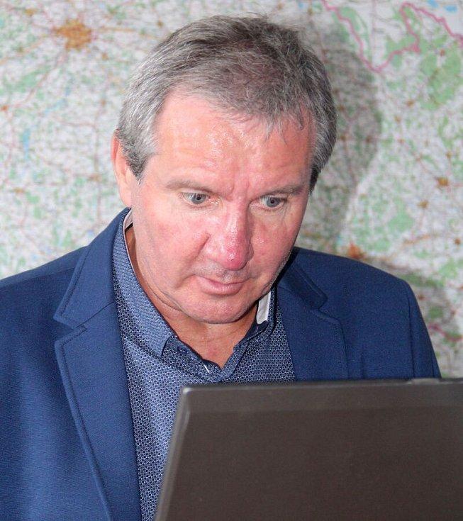 Jiří Kubíček při on-line rozhovoru se čtenáři Deníku