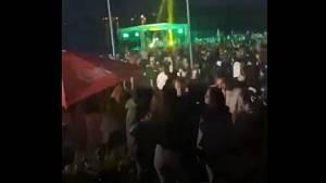 Ibiza párty na Nákle, 5.6.2021 - záběry od účastníků akce