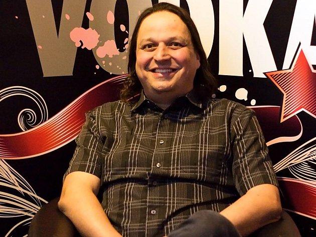 Dušan Neumann, provozovatel Bounty Rock Café vOlomouci