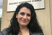Andrea Škurková z KHS Olomouckého kraje