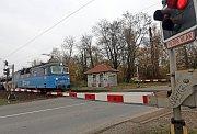Železniční přejezd v Holické ulici v Olomouci