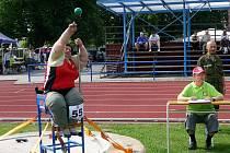 Kacanu z AK Olomouc si ve vrhu koulí vybojovala bronz