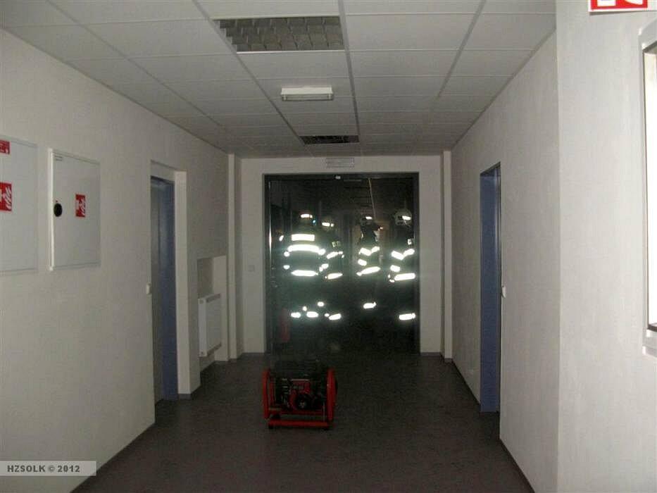 Požár rozvaděče na dětské klinice FN Olomouc
