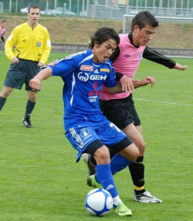 Devatenáctka Sigmy (v modrém) proti Mladé Boleslavi