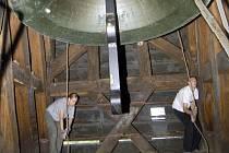Osmitunový zvon Svatý Václav.
