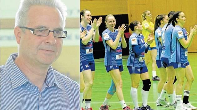 Předseda DHK Zora Olomouc Vítězslav Růžička.