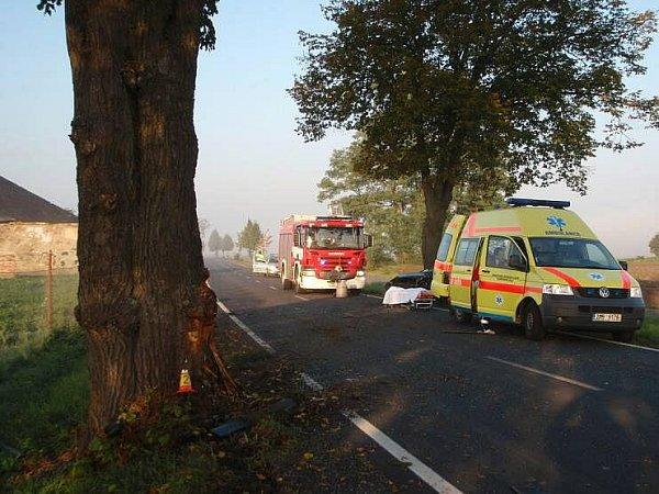 Tragická nehoda uSamotišek vsobotu 2.října ráno