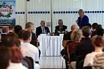 Prezident Zeman na návštěvě v olomoucké společnosti OLMA
