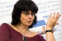 Ivana Plíhalová při on-line rozhovoru pro Olomoucký deník