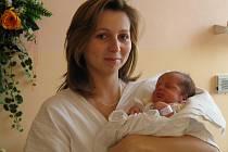 Pavla Langerová, narozená 11.12. 2007 v Olomouci, váha: 3170 g, míra: 50  cm, Slavoňov