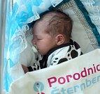 Daniel Batoušek, Dlouhá Loučka, narozen 8. dubna, míra 52 cm, váha 4100 g