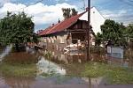 Olomouc, Teichmanova ulice, 14. července 1997