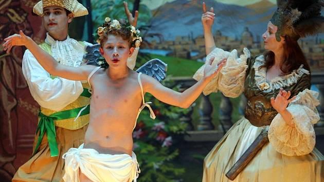 Barokní opera Endymio v Olomouci