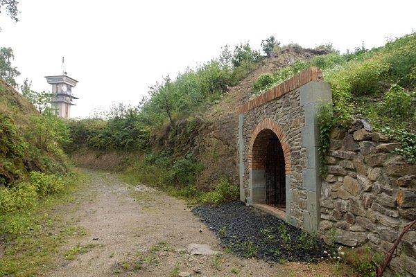Fort č.2Radíkov - rekonstruovaná poterna