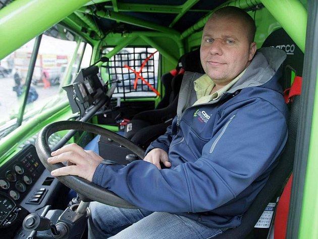 Olomoucký závodník Marek Spáčil