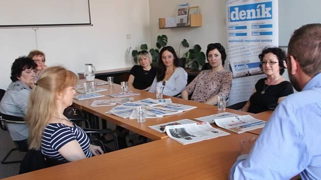 Den pro mámu hostila i redakce Olomouckého deníku