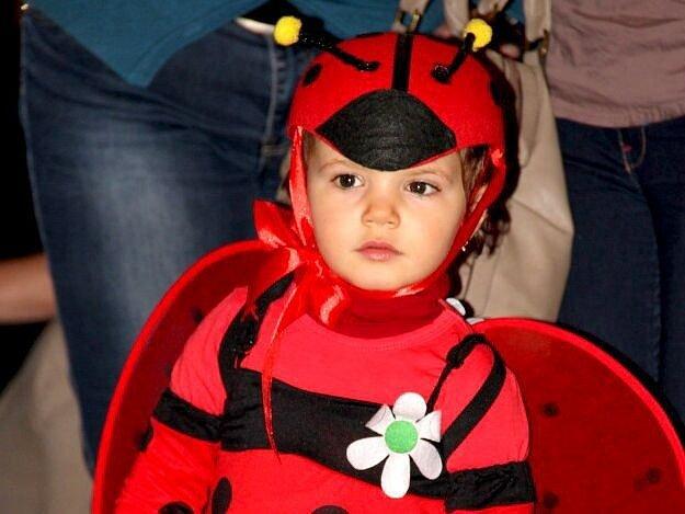 Dětský maškarní karneval ve Velké Bystřici
