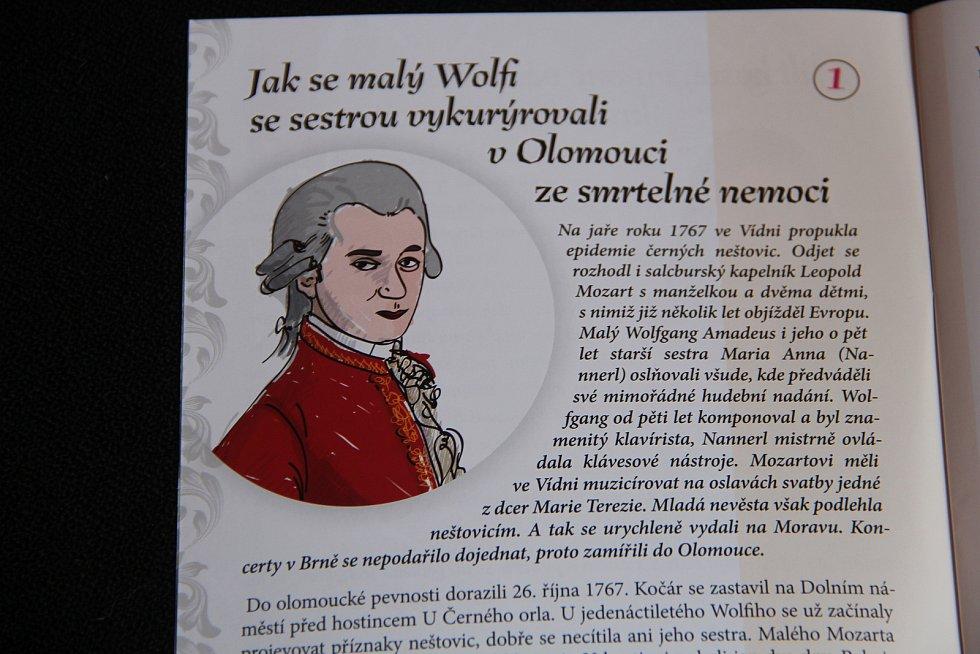 Nová publikace Olomoucké příběhy je k dispozici v podloubí radnice.