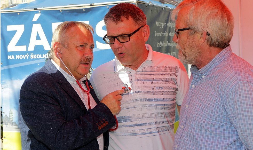 Zahájení ostré volební kampaně ČSSD v Olomouci podpořil ministr Lubomír Zaorálek.