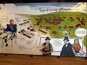 Pevnost poznání v Olomouci - historie jako komiks