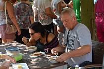 Restaurant day na zahrádce Národního domu.