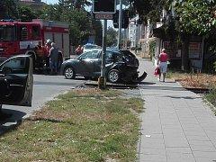 Nehoda v ulici Na vozovce