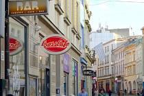 Riegrova ulice v Olomouci. Ilustrační foto