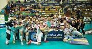 Finále 2019 Poháru České pojišťovny Liberec - Pardubice v olomoucké Sportovní hale UP