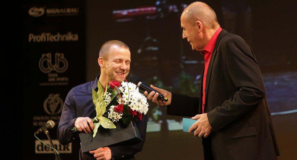 Tomáš Kajnar. Vyhlášení Sportovce Olomouckého kraje za rok 2015