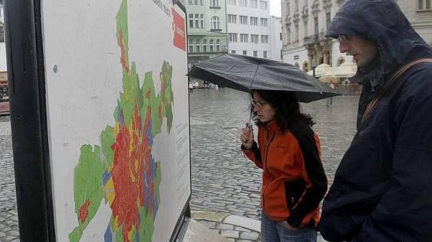 Návrh nového územního plánu na Horním náměstí v Olomouci