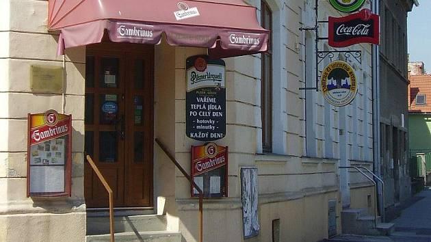 Restaurace U Zlaté koule v Olomouci