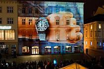 Olomouck festival videomappingu VZÁŘÍ