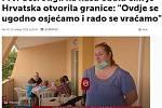 Dnevnik.hr. Turistů z Olomouce na Makarské riviéře si všimla i místní média