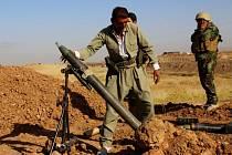 Kurdští pešmergové v bojích s Islámským státem. Ilustrační foto