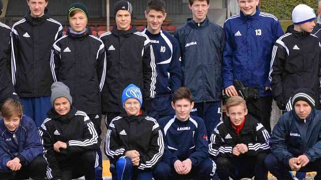 Fotbalový výběr Olomouckého kraje do 14 let na soustředění v Salzburgu