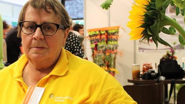 Odbornice na byliny Blanka Kocourková radila on-line
