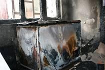 Požár kotelny ve Skrbeni zakouřil celý dům